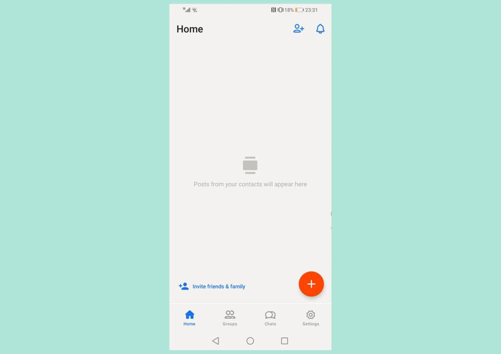بخشهای اپلیکیشن Hallo App چگونه میباشند؟
