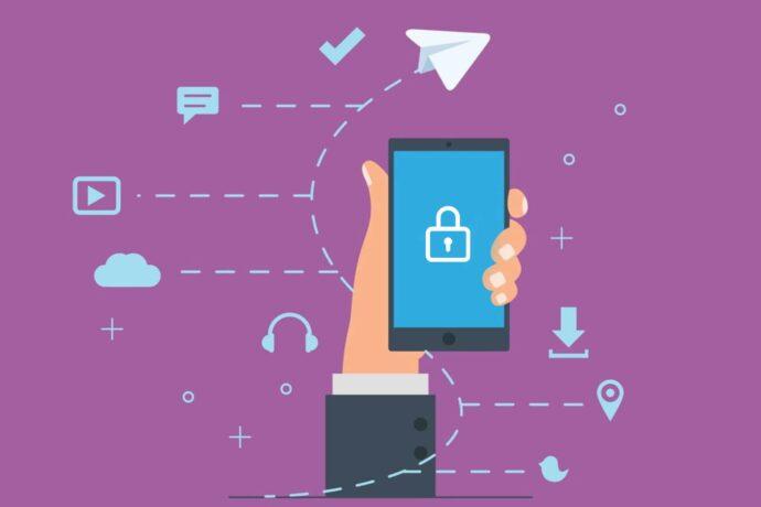 آموزش قفل تلگرام در موبایل و ویندوز