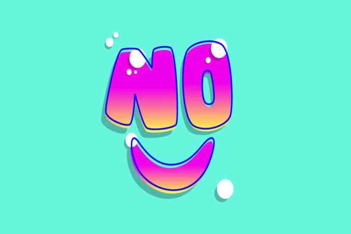 به آسانی نه بگوییم!