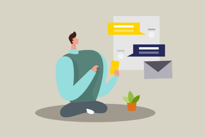 ایجاد یک رابطه دوستانه با مشتریان در پیامرسانها