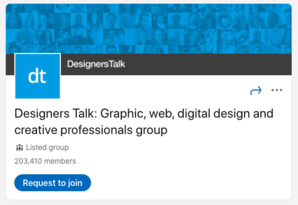 Designers Talk از لیست ۳۰ گروه لینکدین برای طراحان و توسعهدهندگان