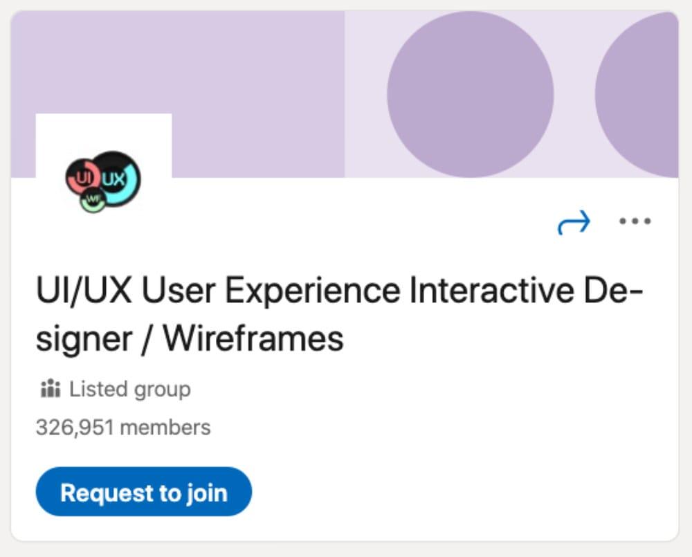 UI/UX User Experience Interactive Designer / Wireframes از لیست ۳۰ گروه لینکدین برای طراحان و توسعهدهندگان