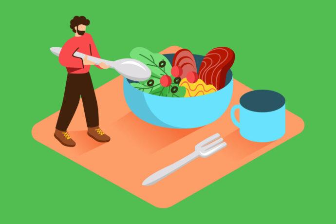 آیا غذا خوردن قبل از خواب مضر است؟